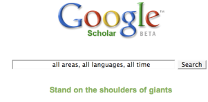 google scholar all time