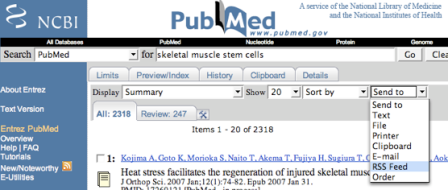 pubmedfeedcreate