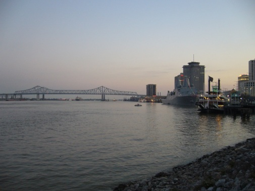 Mississippi River from Jackson Square
