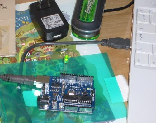 blinkingLEDwith Arduino