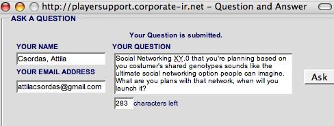 socialnetworking XY.0