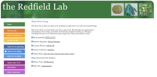 Redfield Lab
