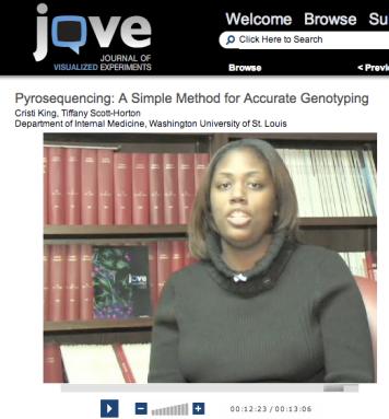 JoVE pyrosequencing