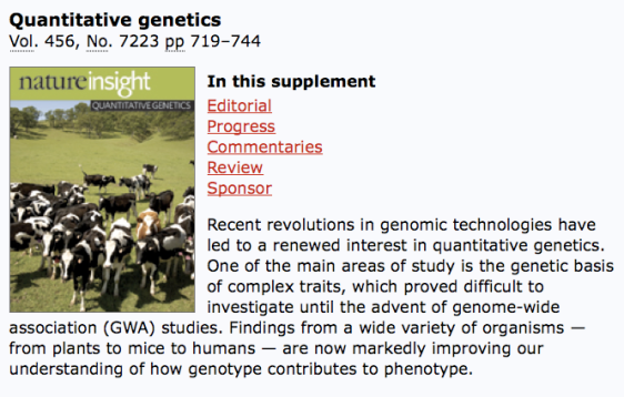 naturequantittivegenetics